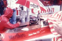 James Hunt McLaren M23 On Grid Japan GP 1976